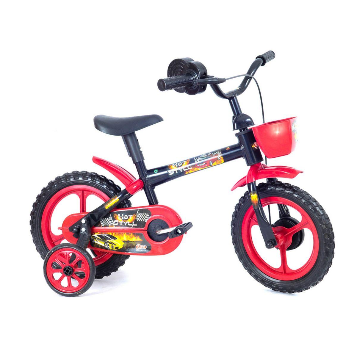 Bicicleta Bike Aro 12 Hot Styll - C/Simulador De Acelerador