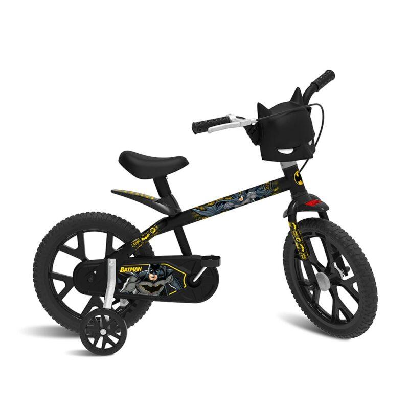 Bicicleta Infantil Batman Aro 14 Bandeirante 3121 linda