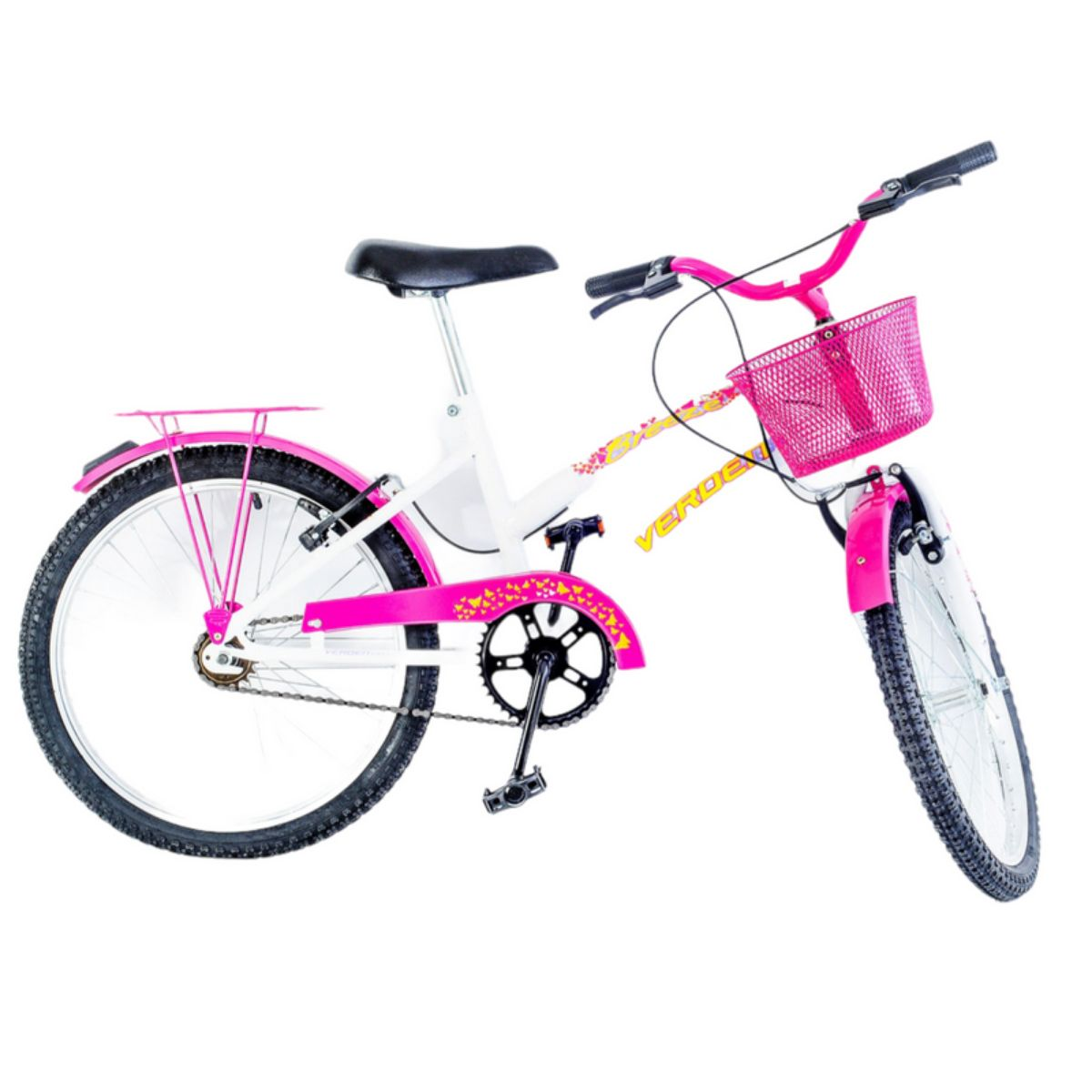 Bicicleta Juvenil Breeze Rosa Aro 20