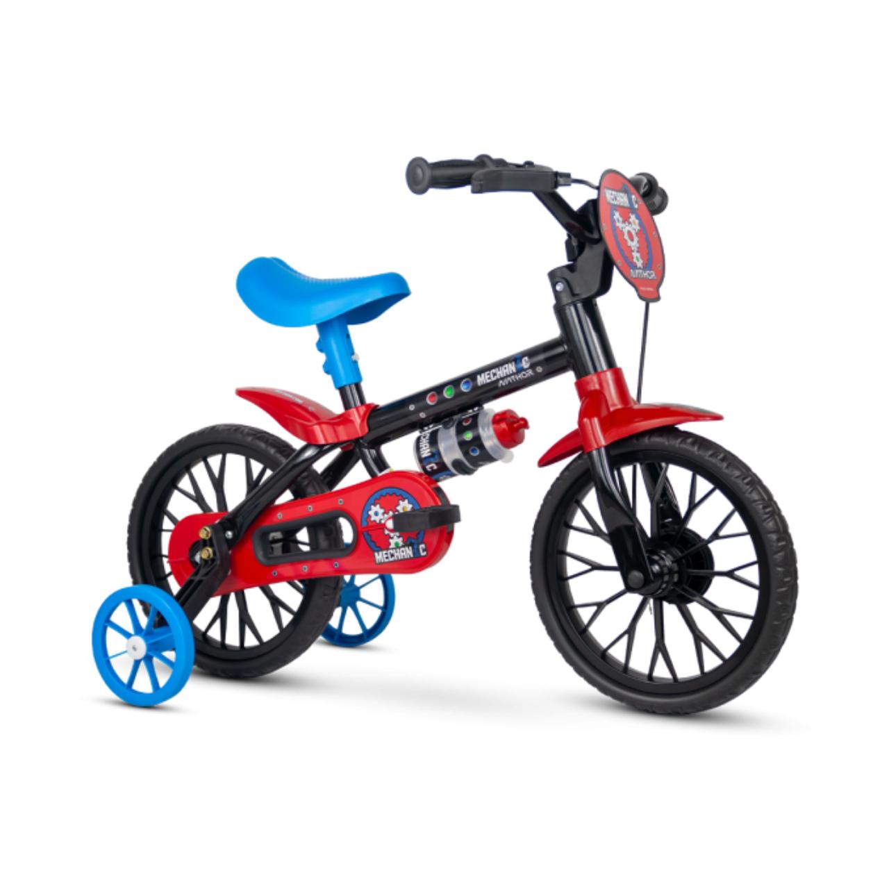 Bicicleta Mechanic Aro 12 Infantil com rodinhas