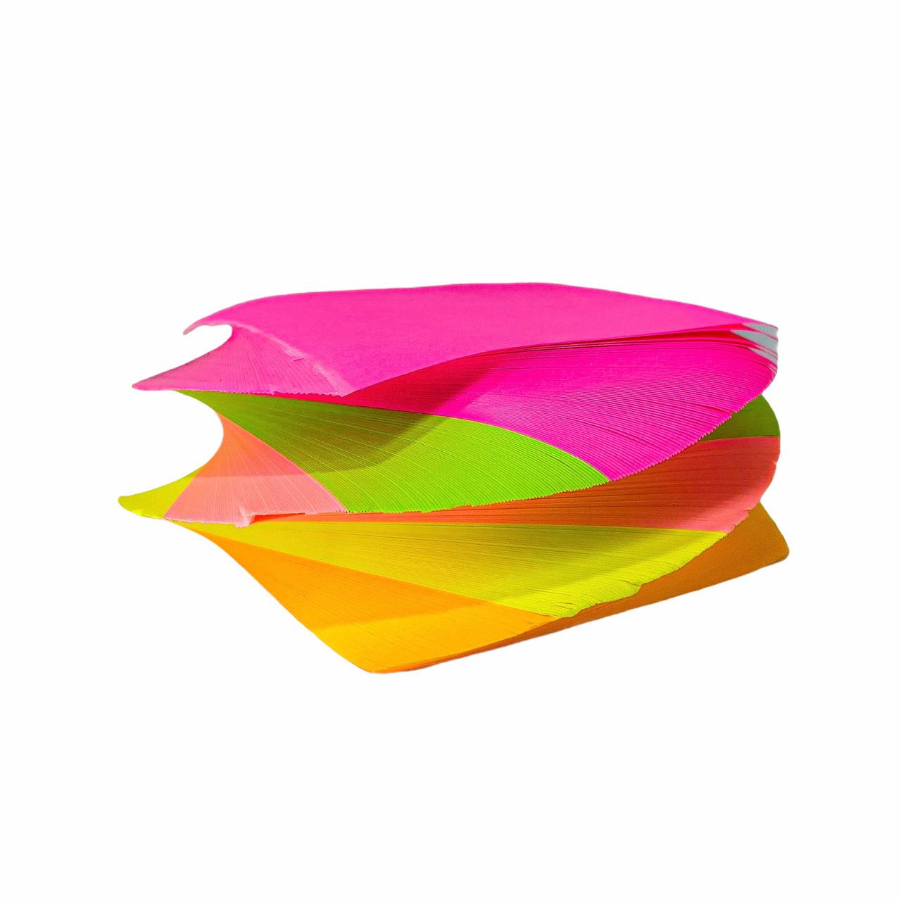 Bloco de Notas Adesivo Post-It Colorido 400 Folhas Espiral Moure Jar