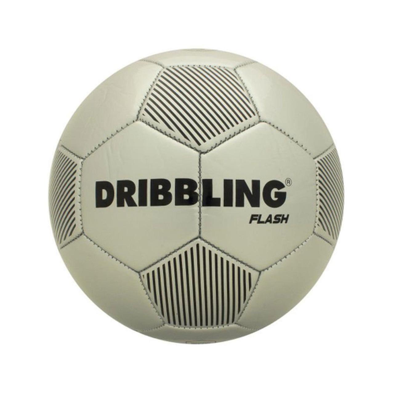 Bola de Futebol nº 5 Flash Prata