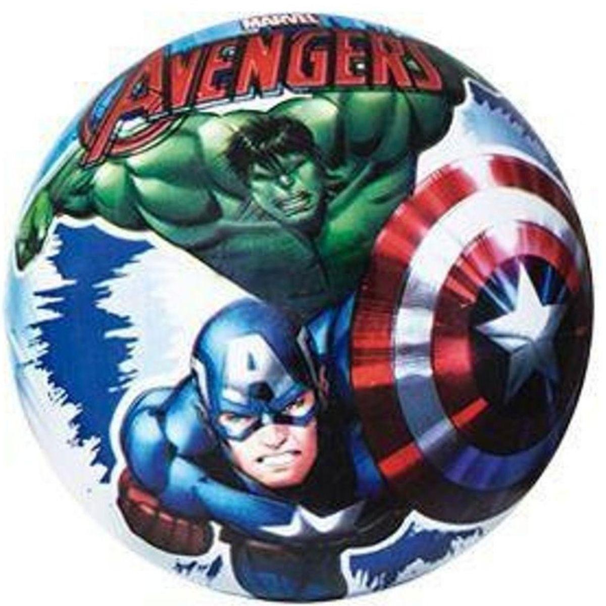 Bola de Vinil Infantil Personagens Avengers - Zippy