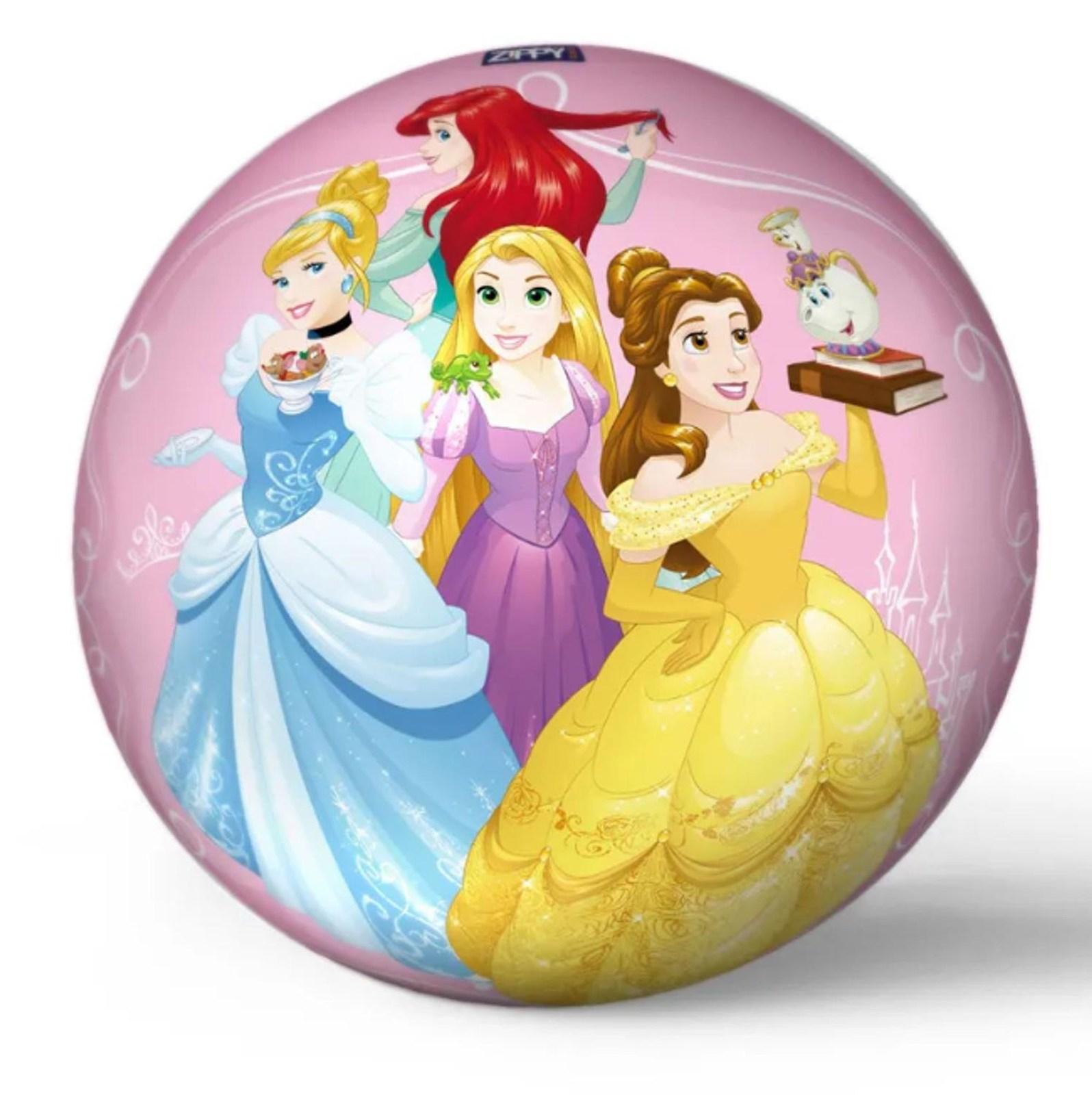 Bola de Vinil Infantil Personagens Princesas - Zippy