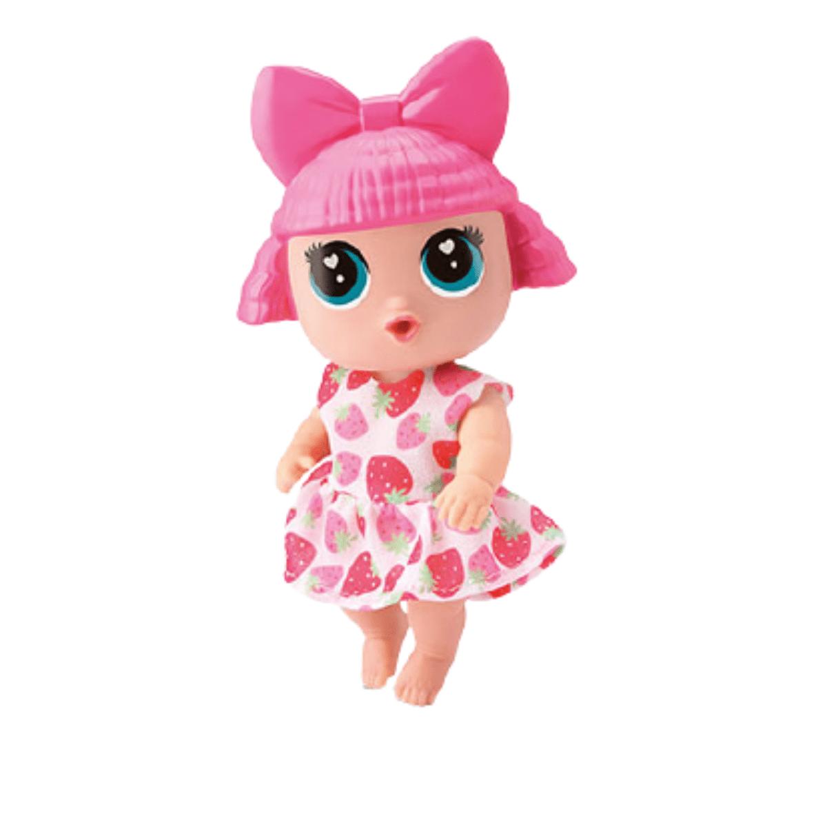 Boneca Baby Buddies Sabores - Morango - Bambola
