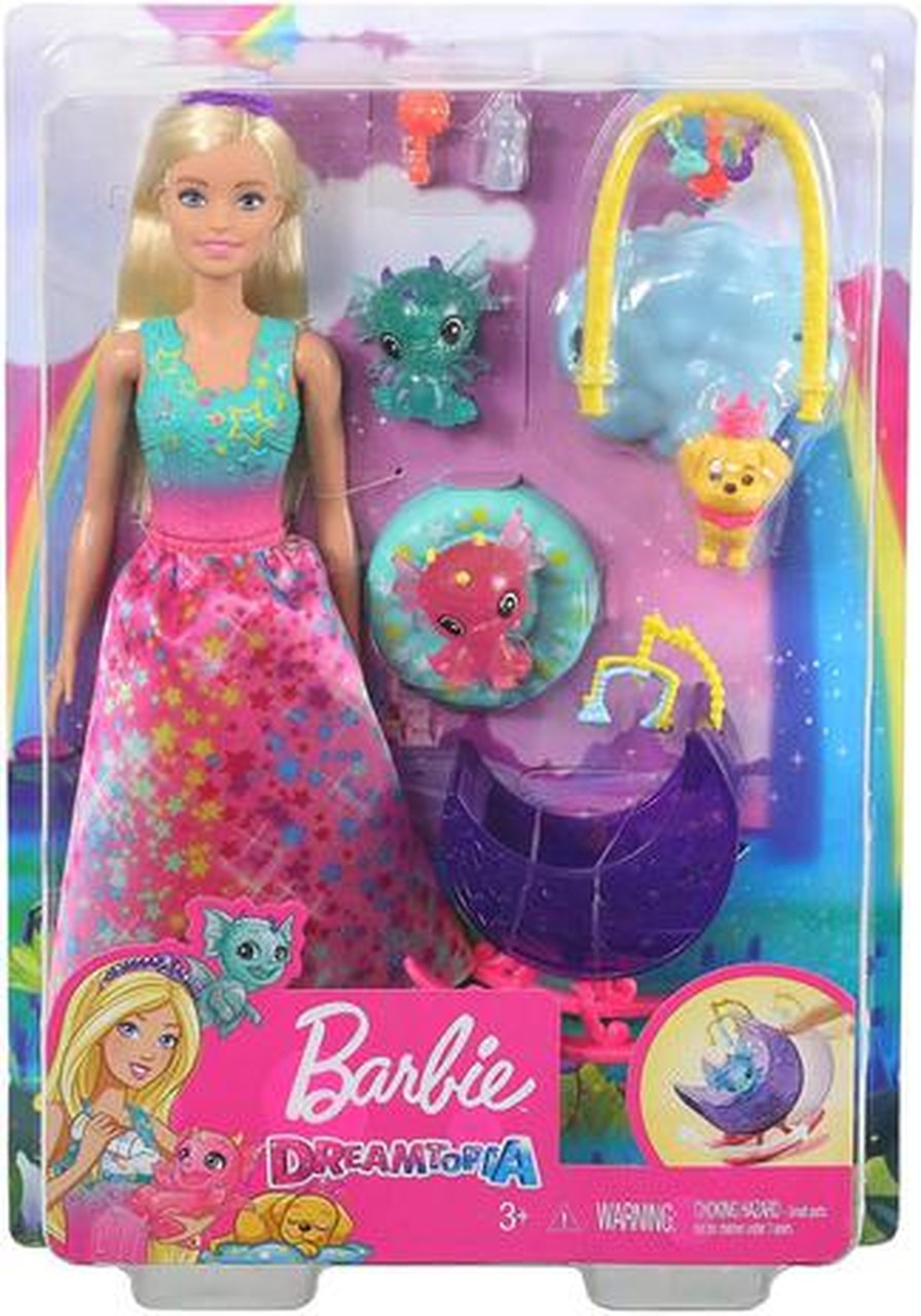 Boneca Barbie Fantasia Dreamtopia Dia De Pets
