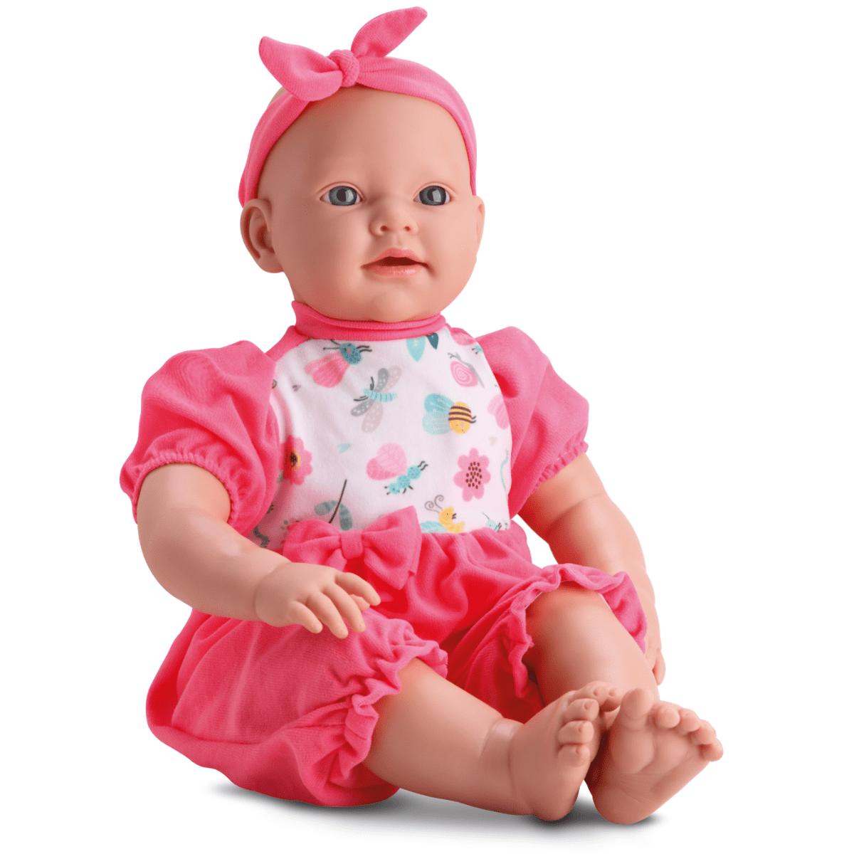 Boneca Bebe Alicia Faz Xixi - Bambola