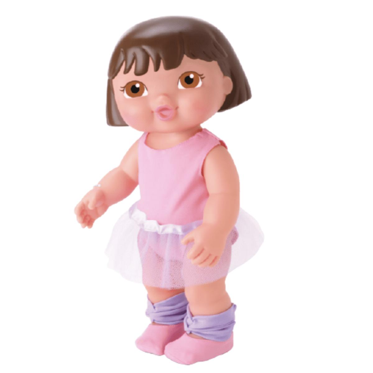 Boneca Bebê Dora Aventureira Bailarina Com Saia Tule - Bambola