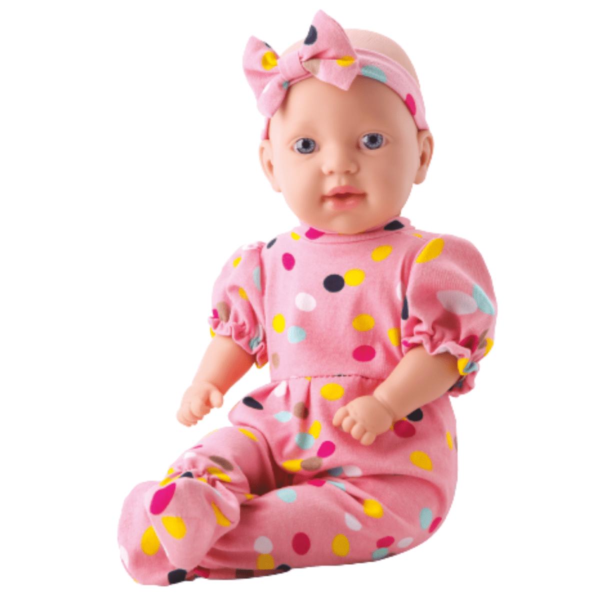Boneca Bebe Mila Faz Xixi - Bambola