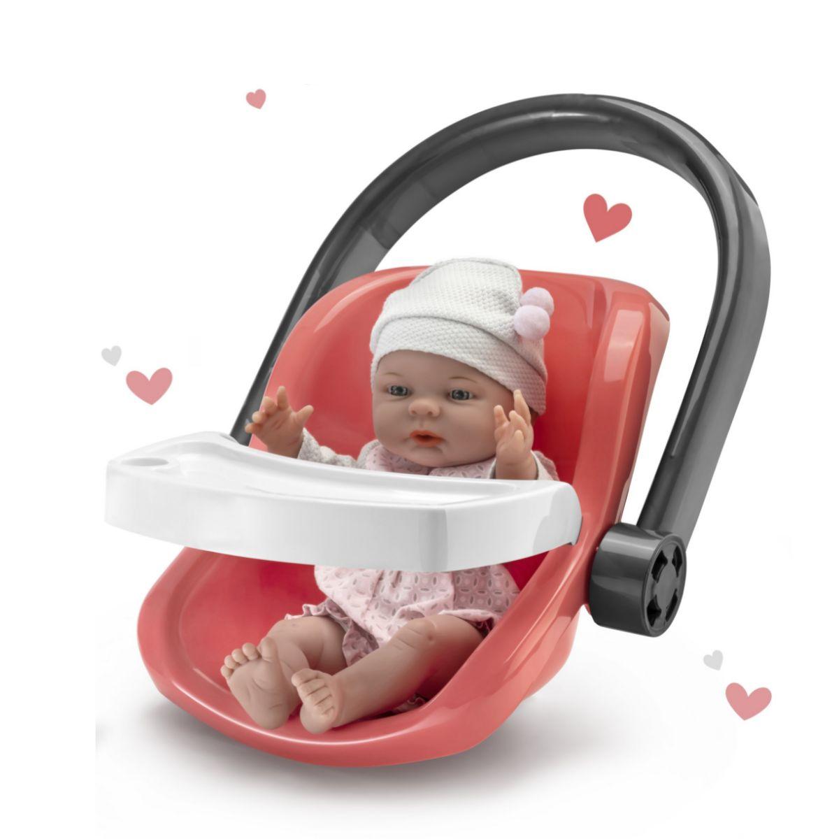 Boneca Dia de Passeio com Bebê conforto