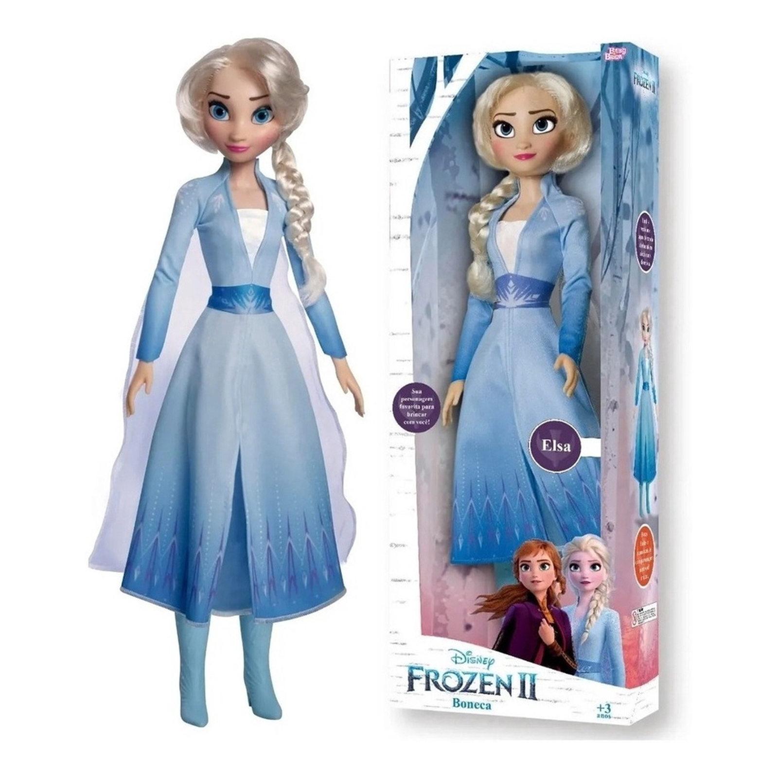 Boneca Elsa Frozen Mini My Size Oficial Baby Brink