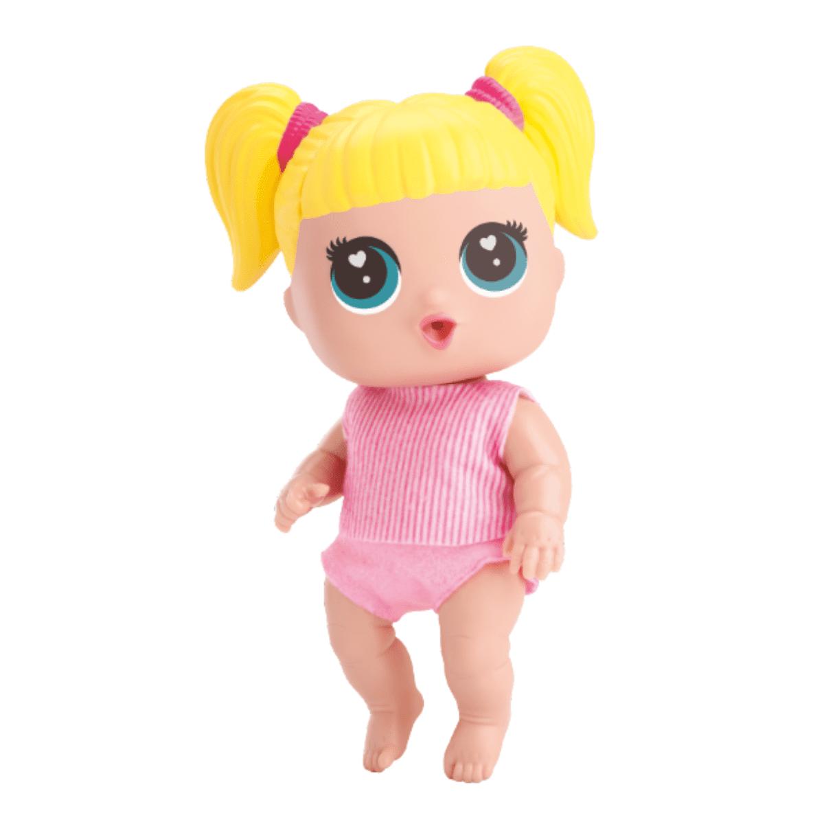 Boneca Infantil Com Acessorios Baby Buddies Bag Passeio - Bambola