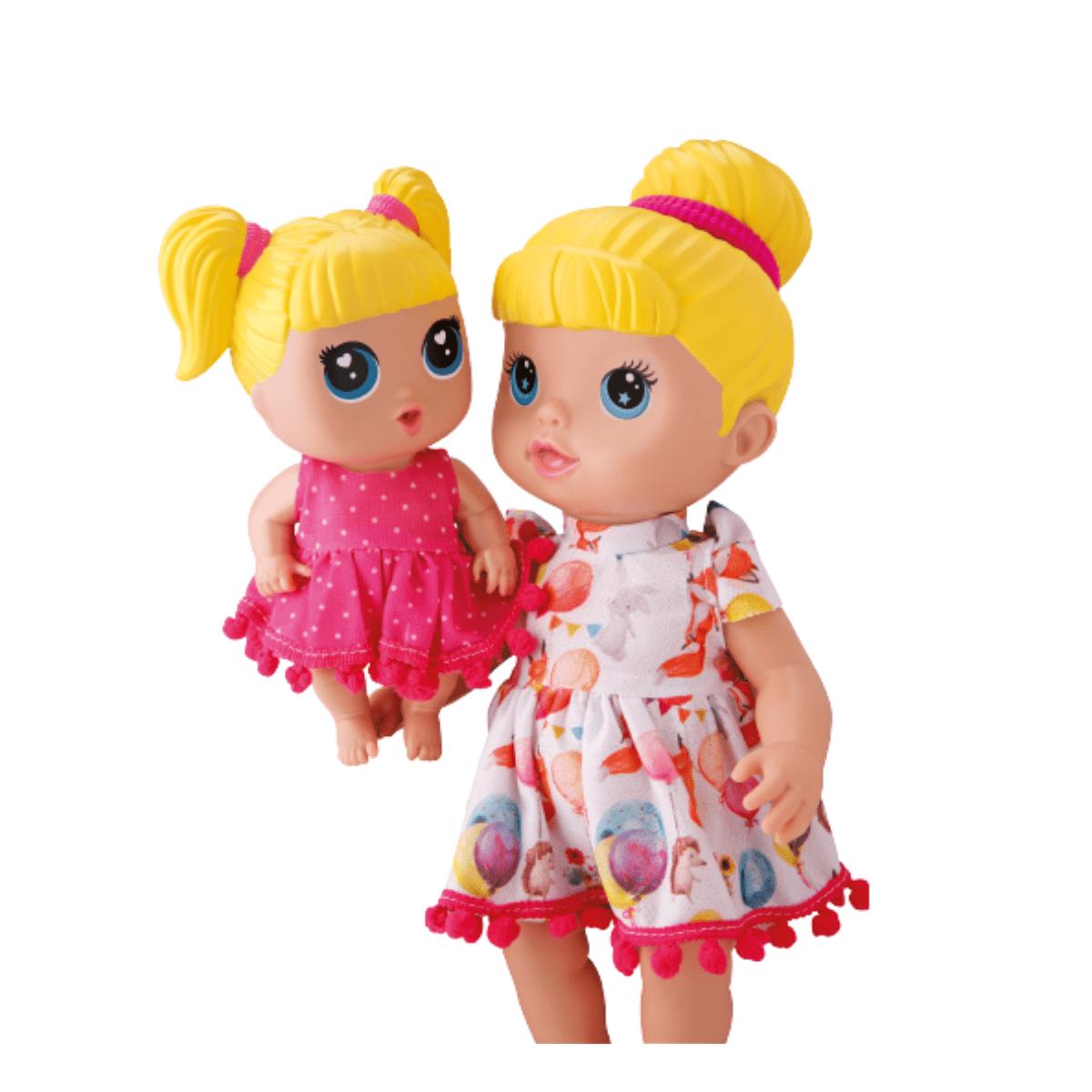 Boneca Mamãe e Filinha Buddies Infantil- Bambola