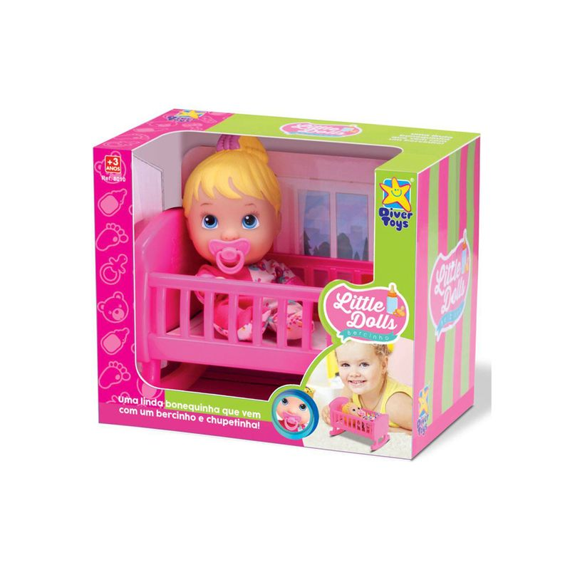 Boneca Little Dolls Bercinho - DiverToys