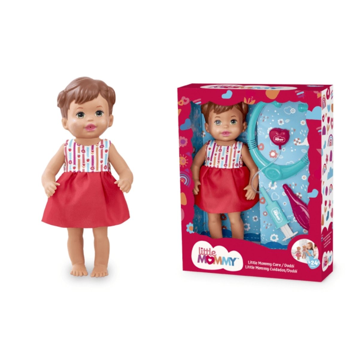 Boneca Little Mommy Dodói Morena Com Acessorios 1033 Pupee