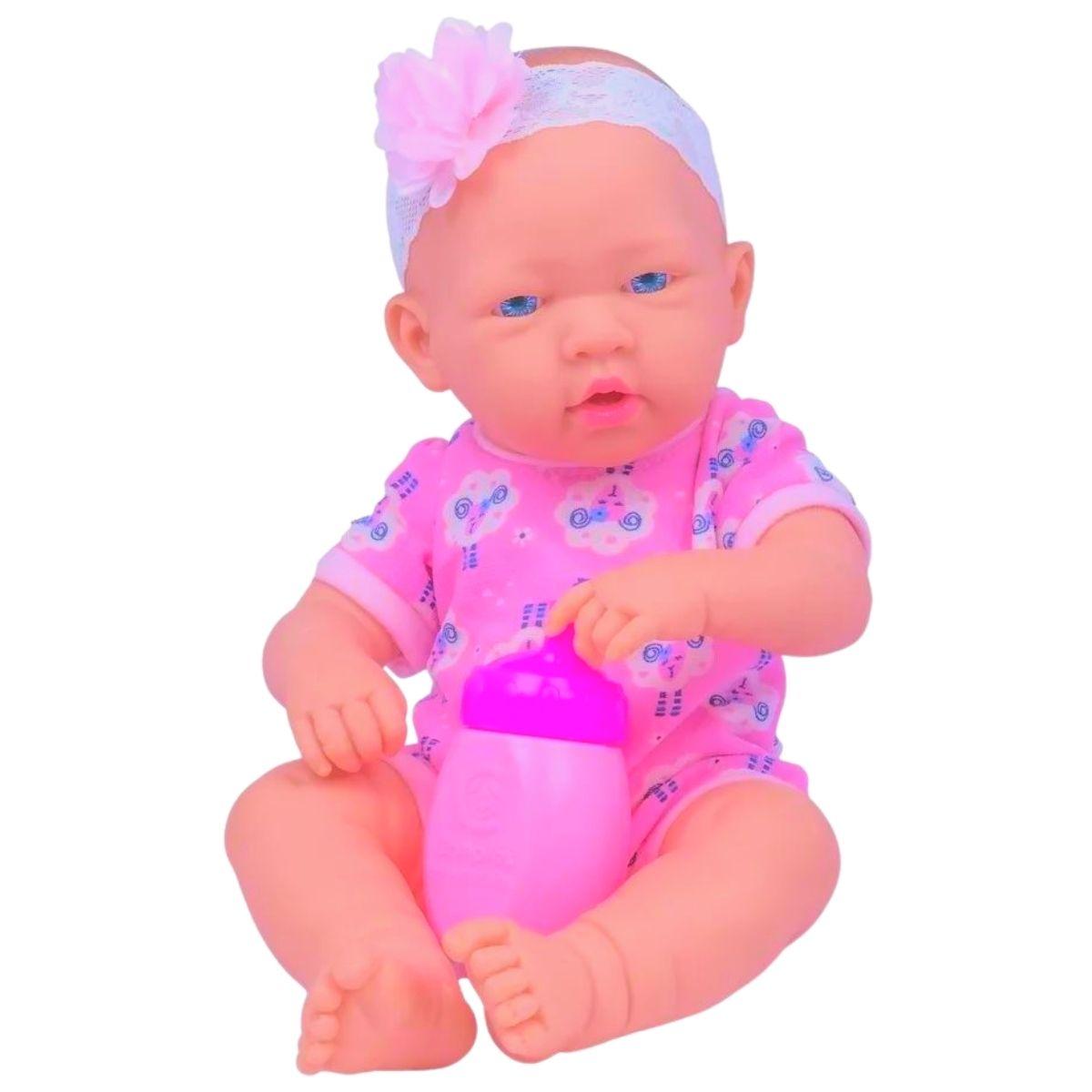 Boneca Love Born Bebezinho Da Mamãe - Cotiplas 2381