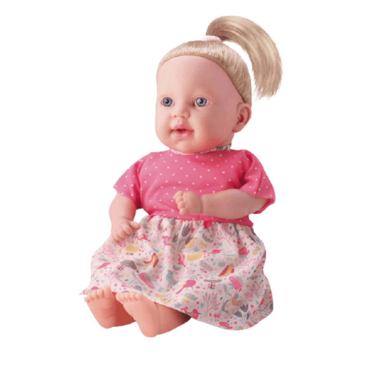 Boneca Menina Livia Faz Xixi Com Acessórios E Roupinha - Bambola