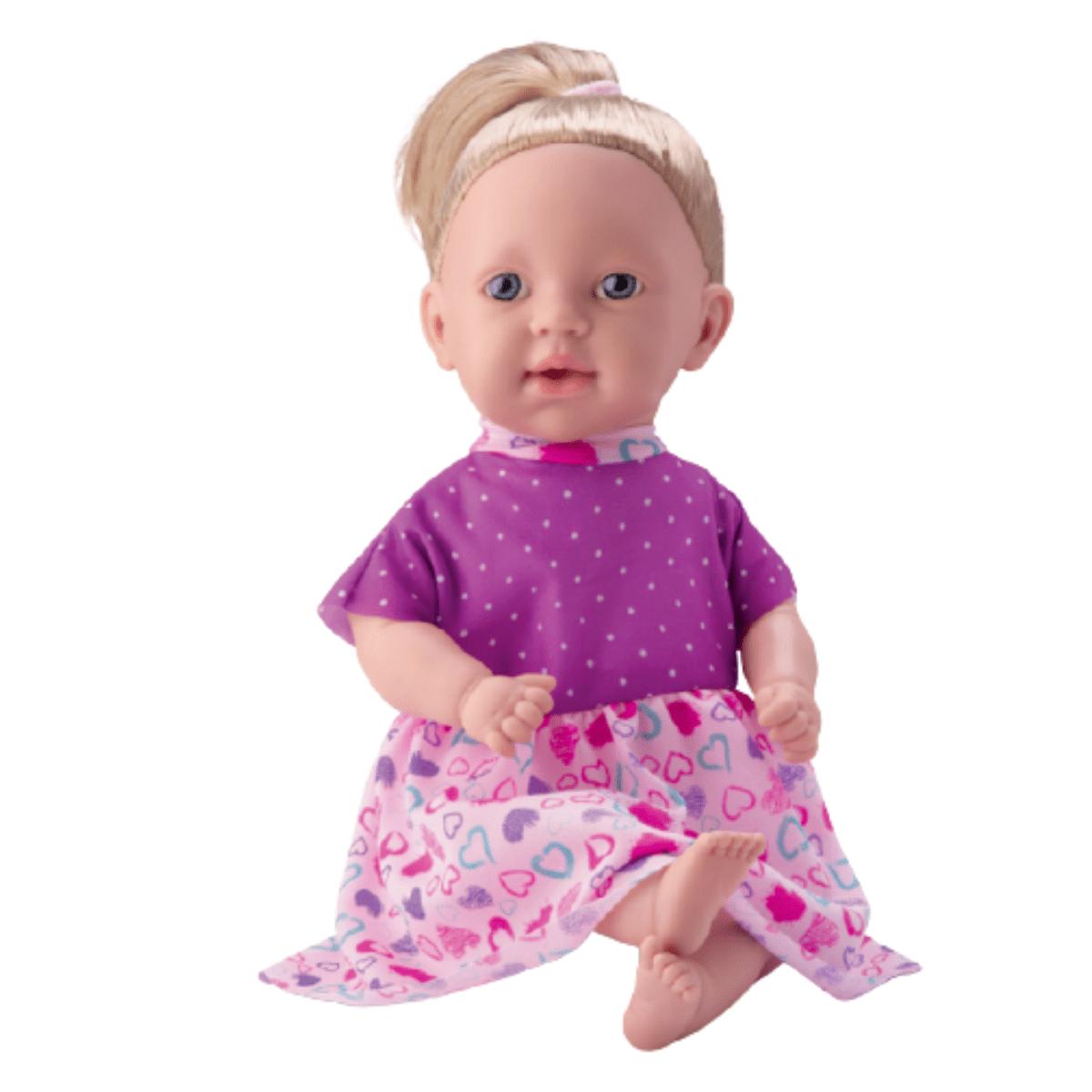 Boneca Olivia Fala Frases Com Roupinha Decorada - Bambola