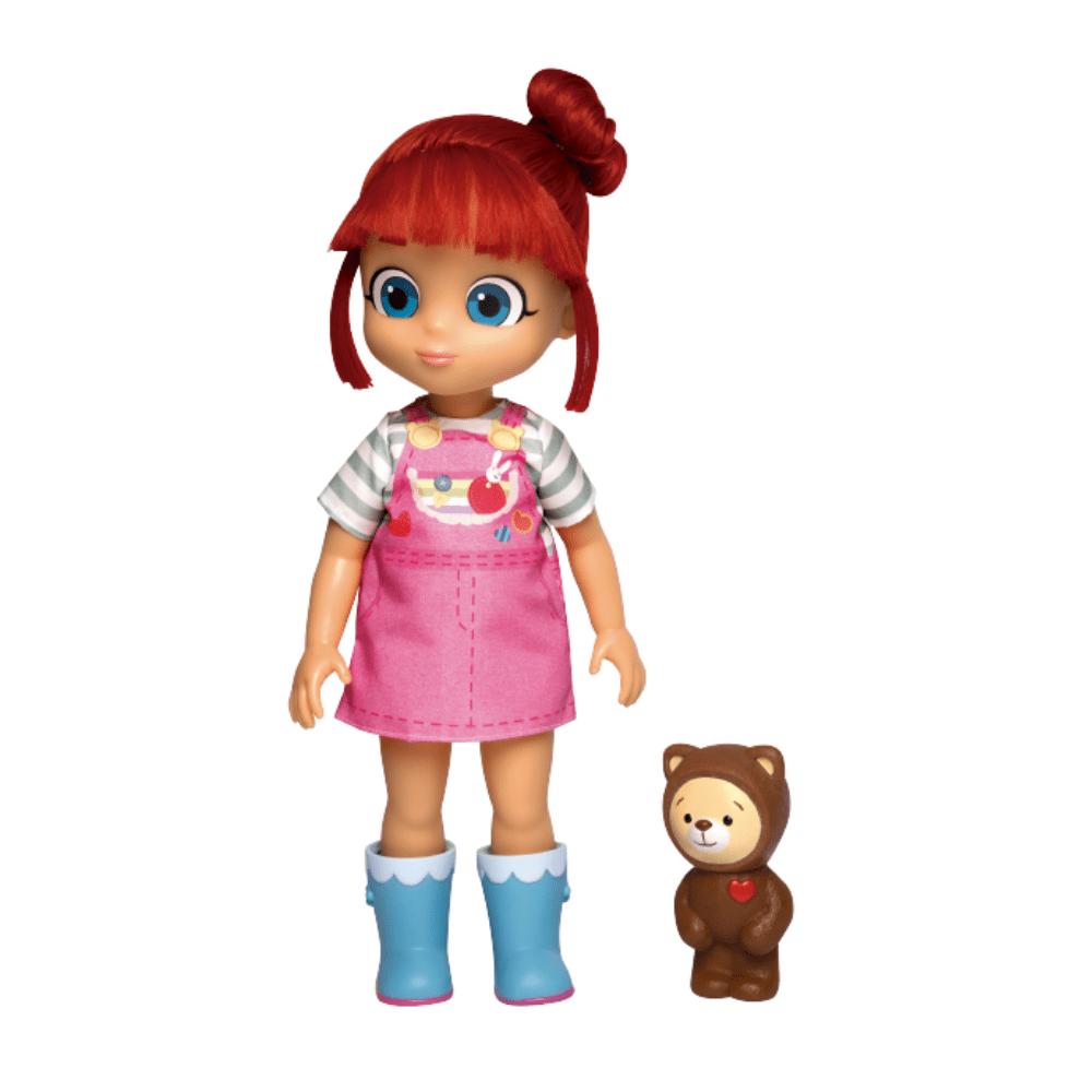 Boneca Rainbow Ruby + Choco Pelúcia - Baby Brink