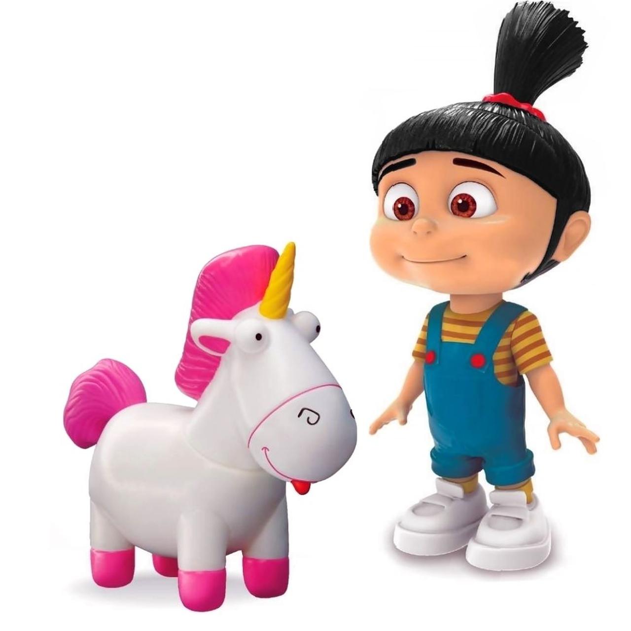 Boneca Vinil Agnes e Fluffy Meu Malvado Favorito Lider Brinquedos