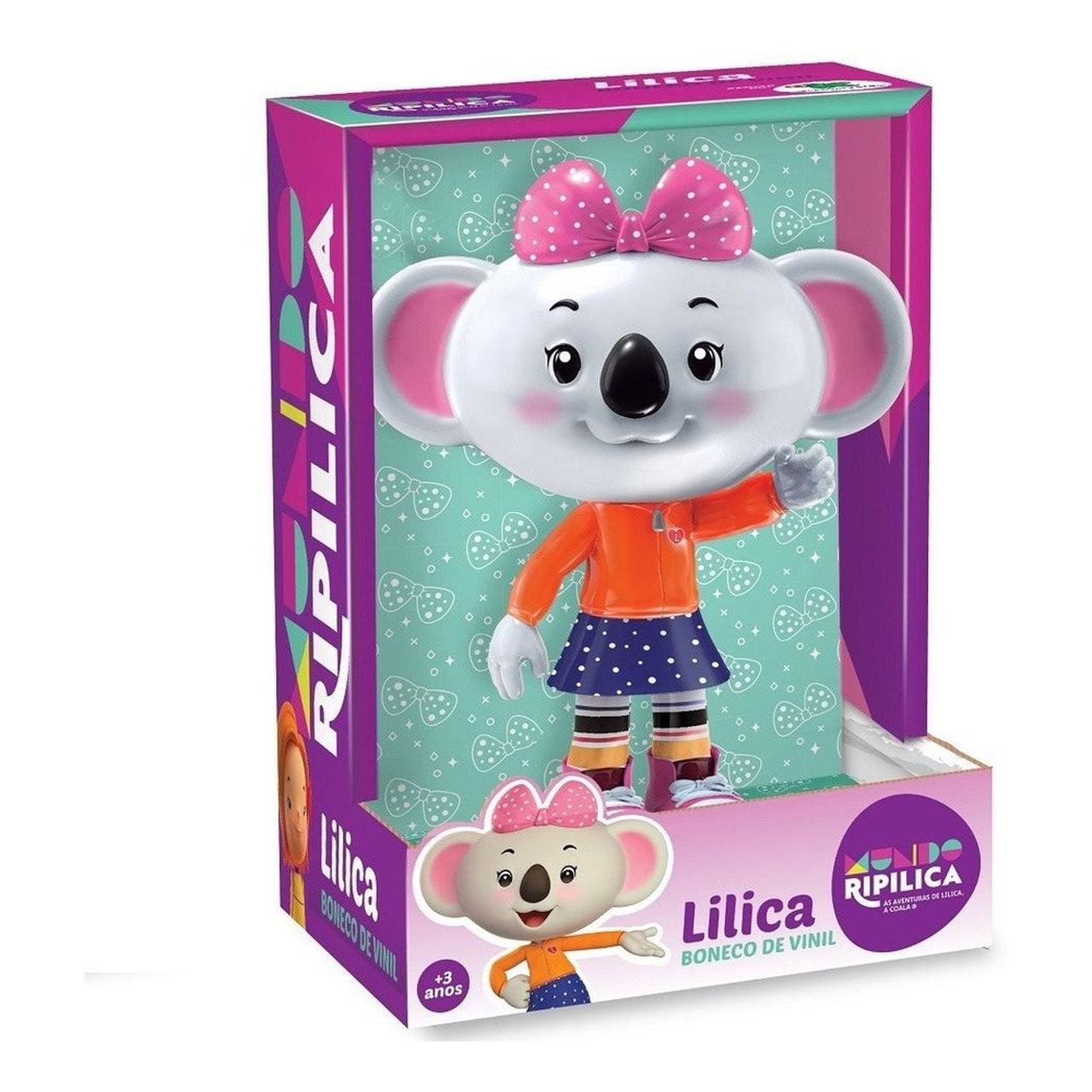 Boneca Vinil Lilica Mundo Ripilica Lider Brinquedos