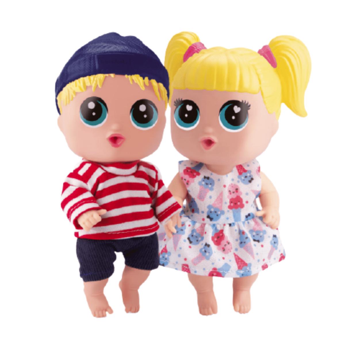 Bonecas Baby Buddies Gêmeos - Bambola