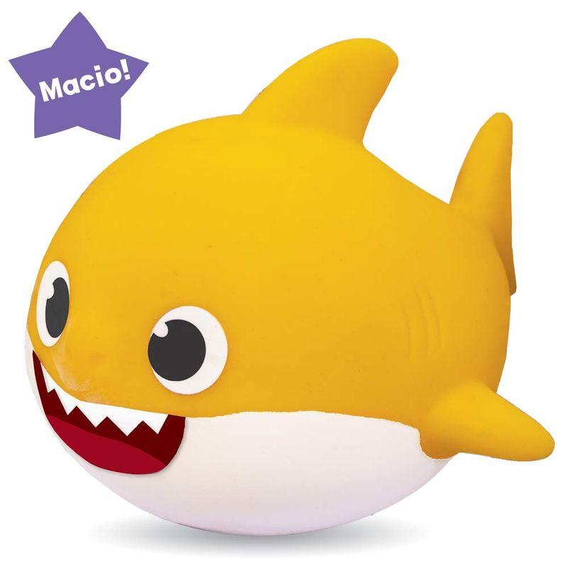 Boneco Baby Shark - Peixinho De Vinil Macio Elka