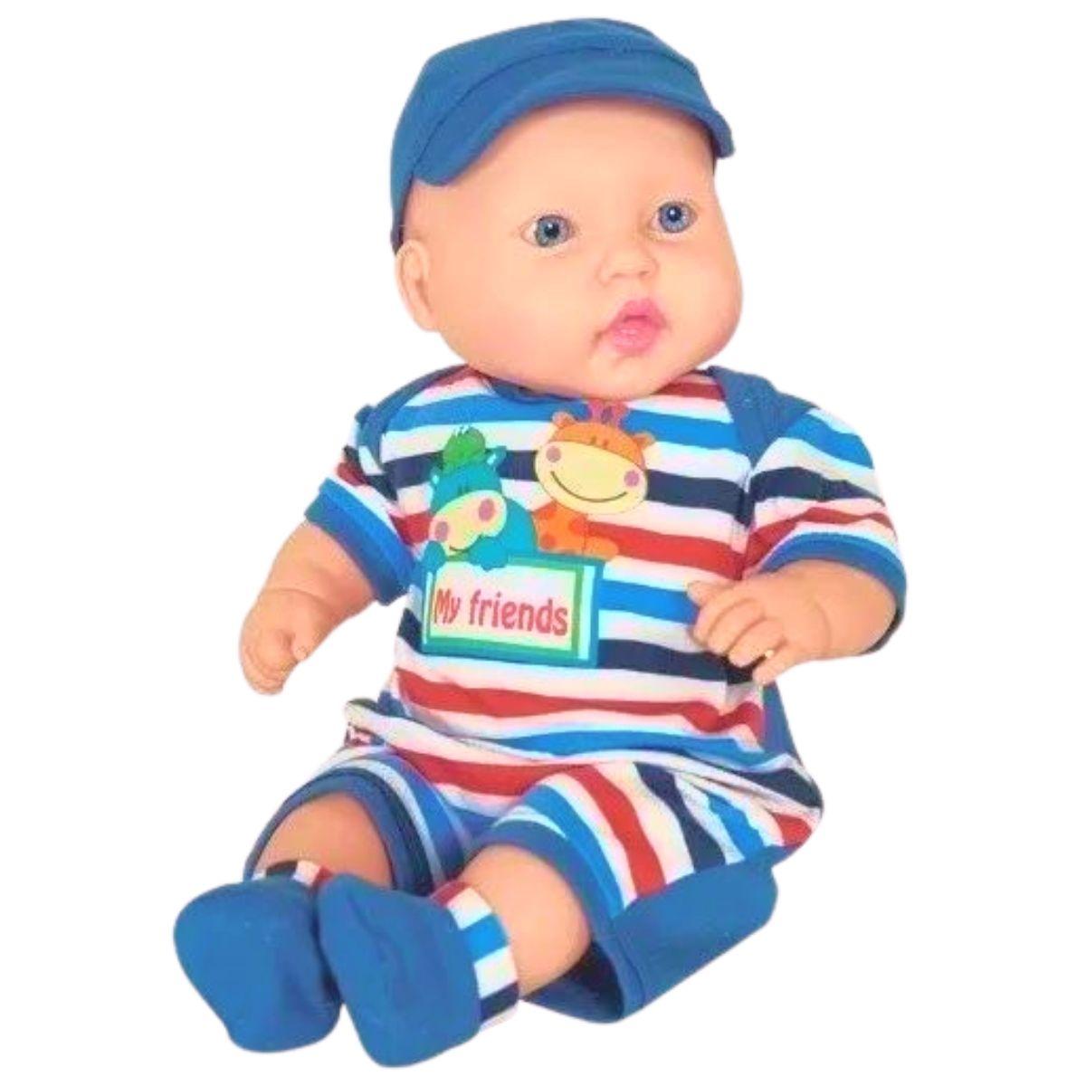 Boneco Bebê Miyo - Cotiplás