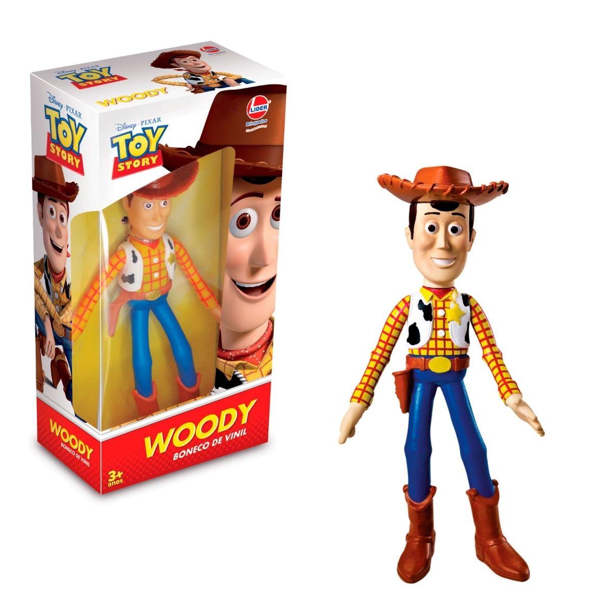 Boneco de Vinil Woody Toy Story Articulado