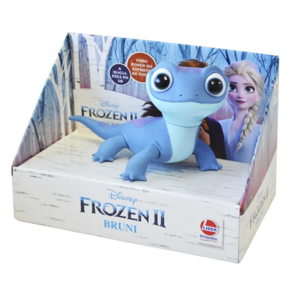 Bruni Frozen Disney 2 Salamandra Vinil 20Cm - Original Líder