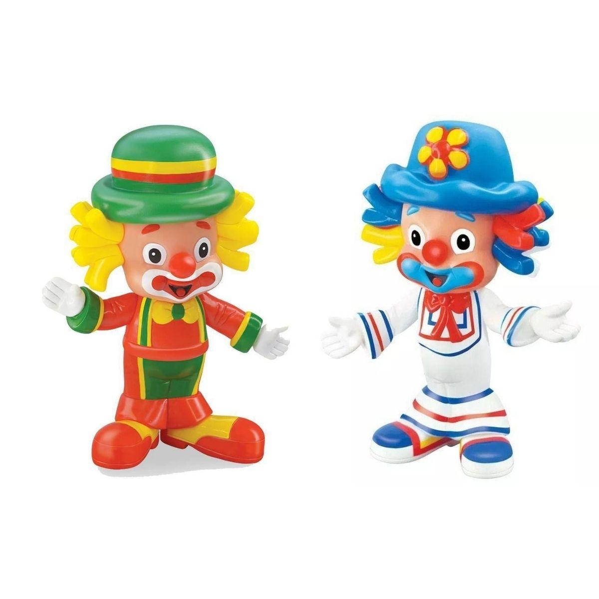 Patati Patata Boneco Palhaço Vinil Original Lider Brinquedos