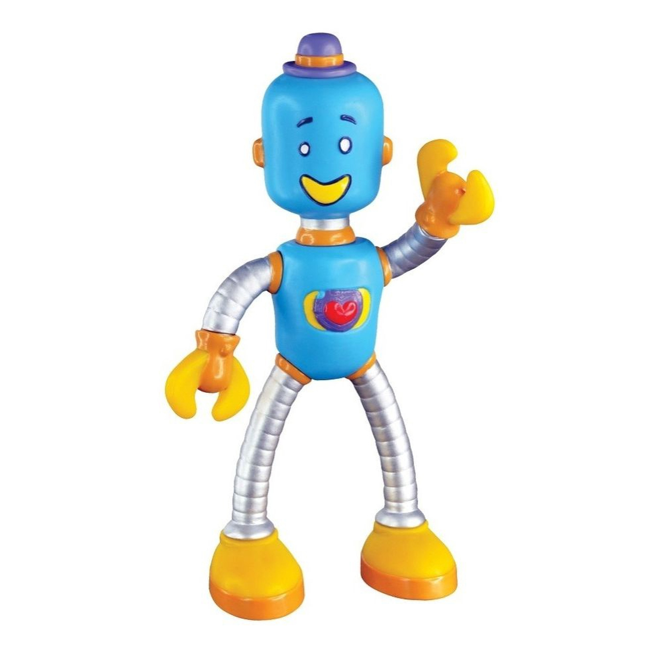 Boneco Vinil Robô Tum Tum Mundo Bita Oficial Lider Brinquedos