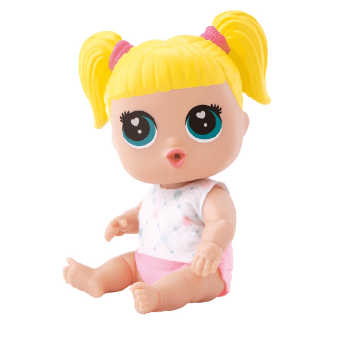 Bonequinha Para Meninas Baby Buddies Bag Cuidadinho - Bambola
