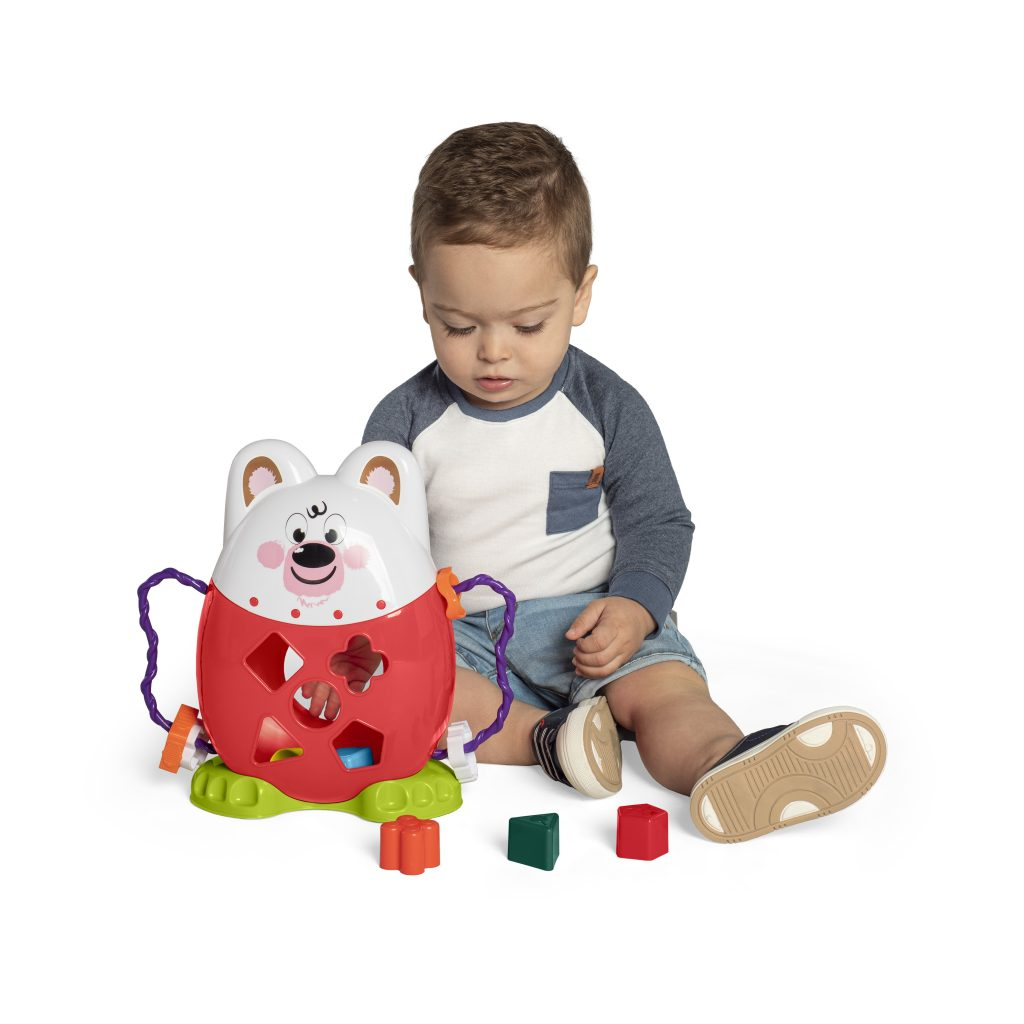 Brinquedo Amigo Pet Sacola Calesita Ta Te Ti - 3040 - Tateti