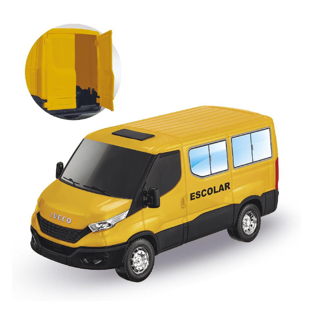 Brinquedo Caminhão Escolar Iveco Daily Usual