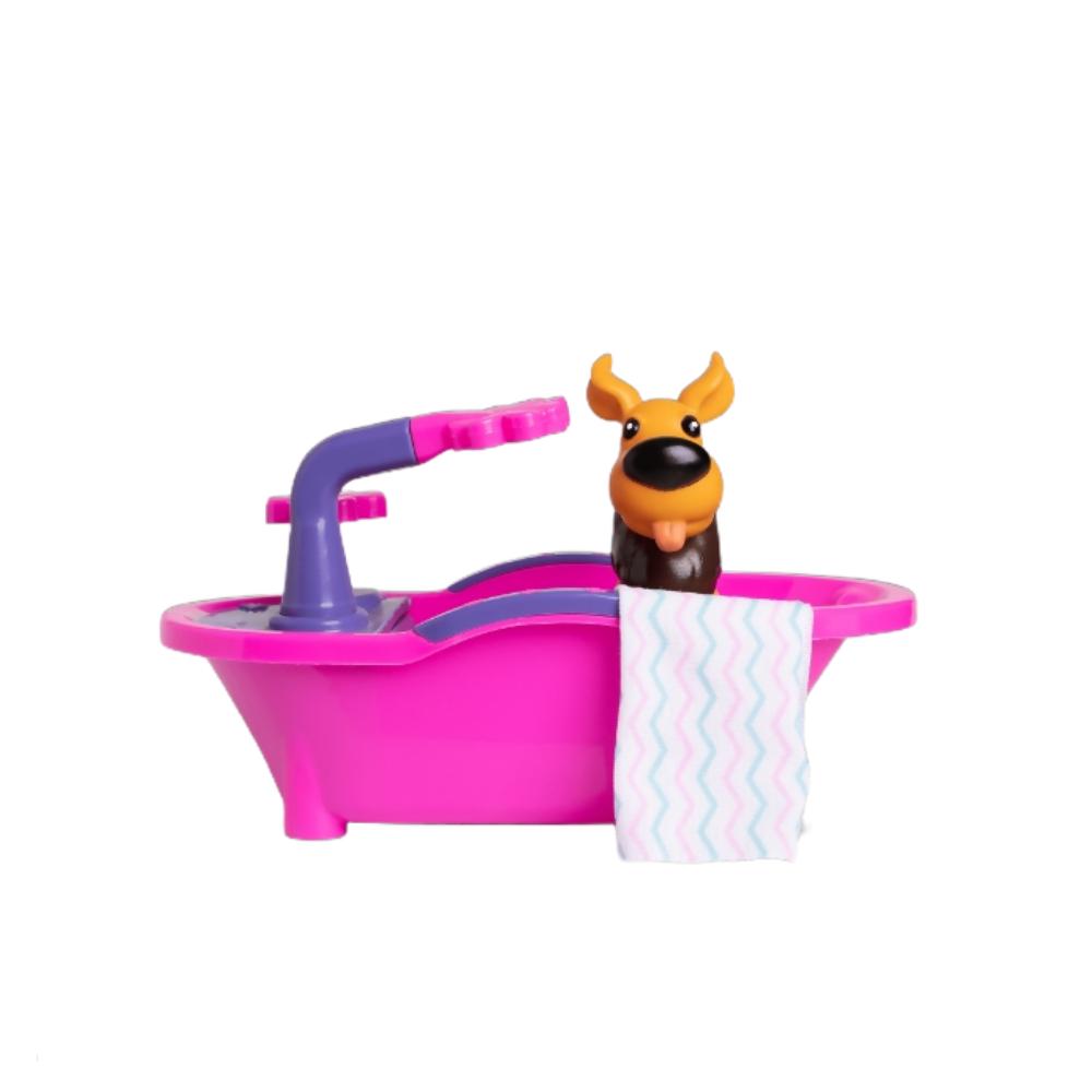 Brinquedo Divertido Pet Spa Banheirinha Com Cachorrinho - Samba Toys
