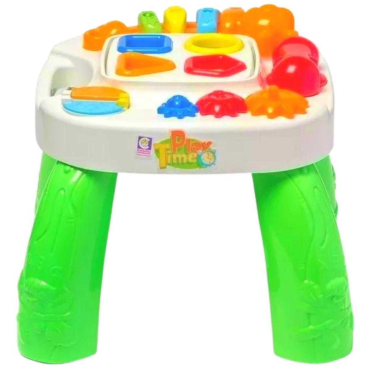 Brinquedo Educativo Playtime Cotiplás Mesinha C/ Atividades