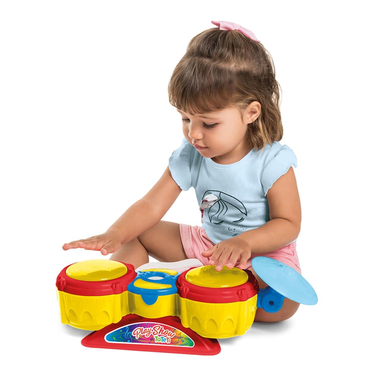 Brinquedo Infantil Play Show Musical Com Luz E Som - Tateti