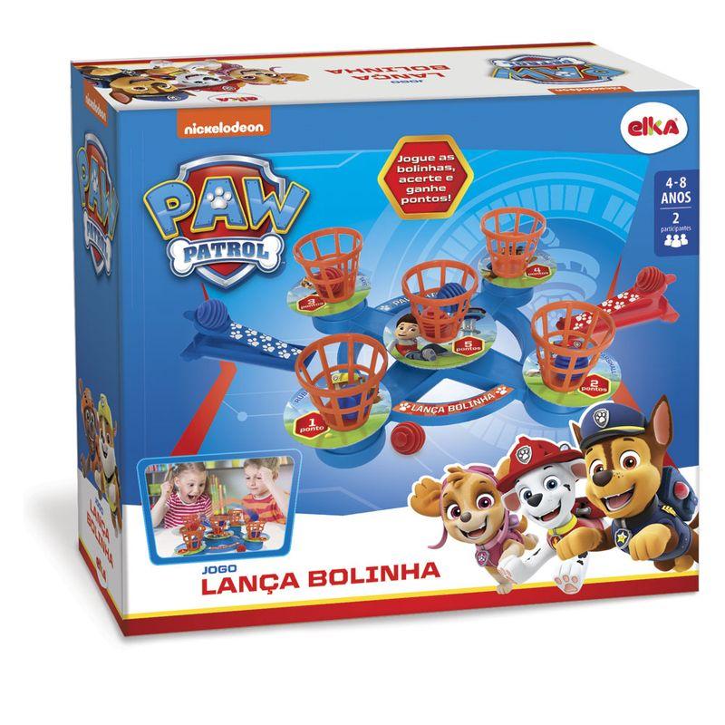 Brinquedo Jogo Papa Bolinha Patrulha Canina Original Elka