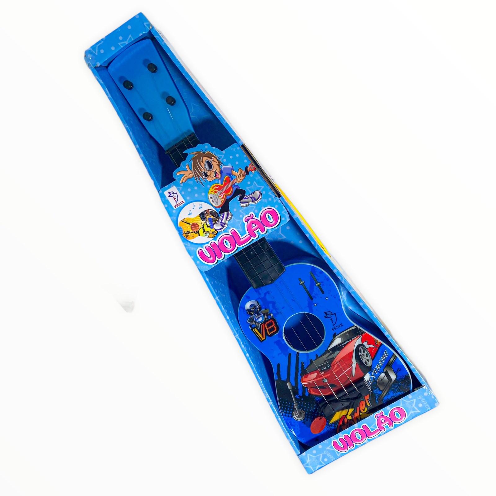 Brinquedo Musical Violão Infantil de Plástico Fenix 6772