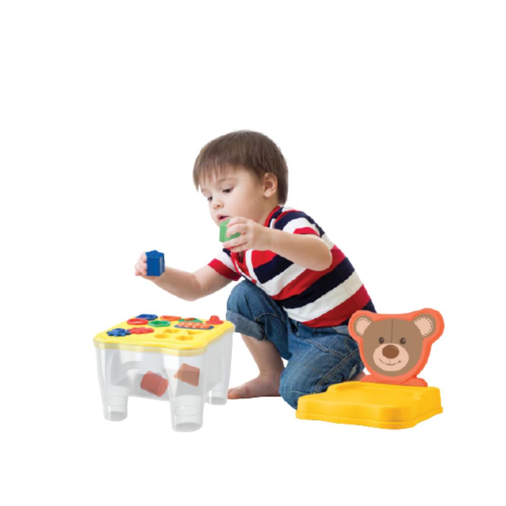 Cadeirinha Mesa Didática Com Atividades - Samba Toys