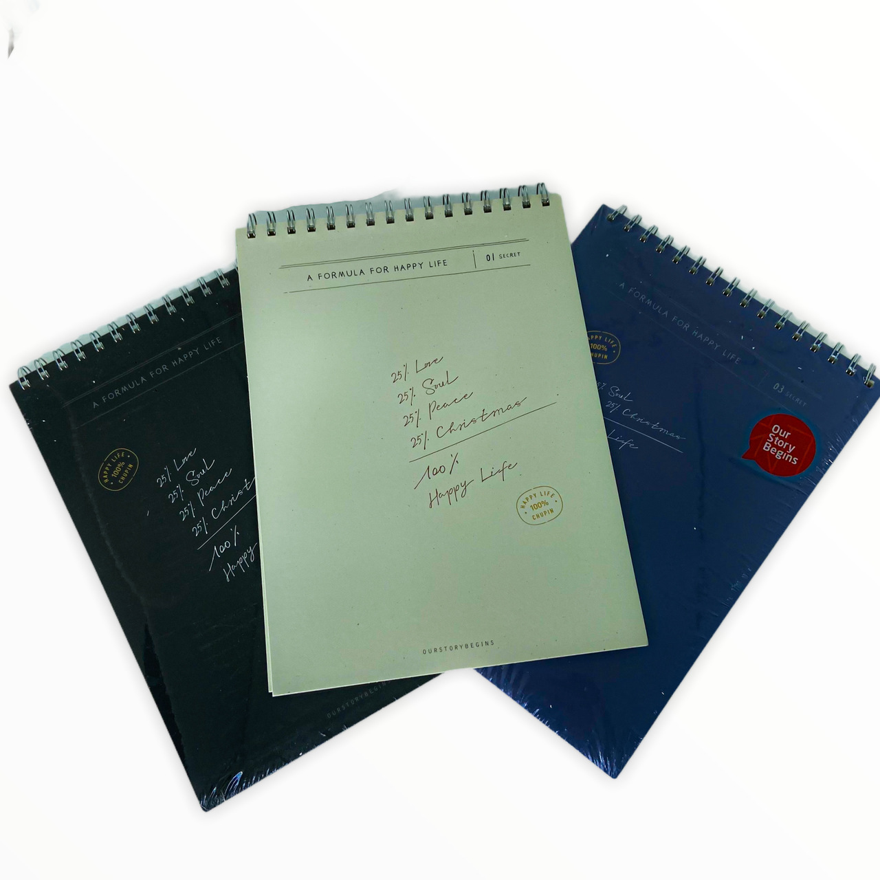 Caderno De Desenho Our Story Begins Espiral A4 45 Folhas Moure Jar
