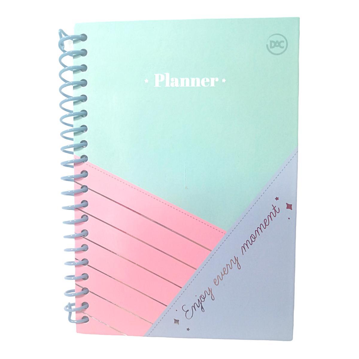Caderno para anotação Planner Permanente Enjoy com 96 folhas