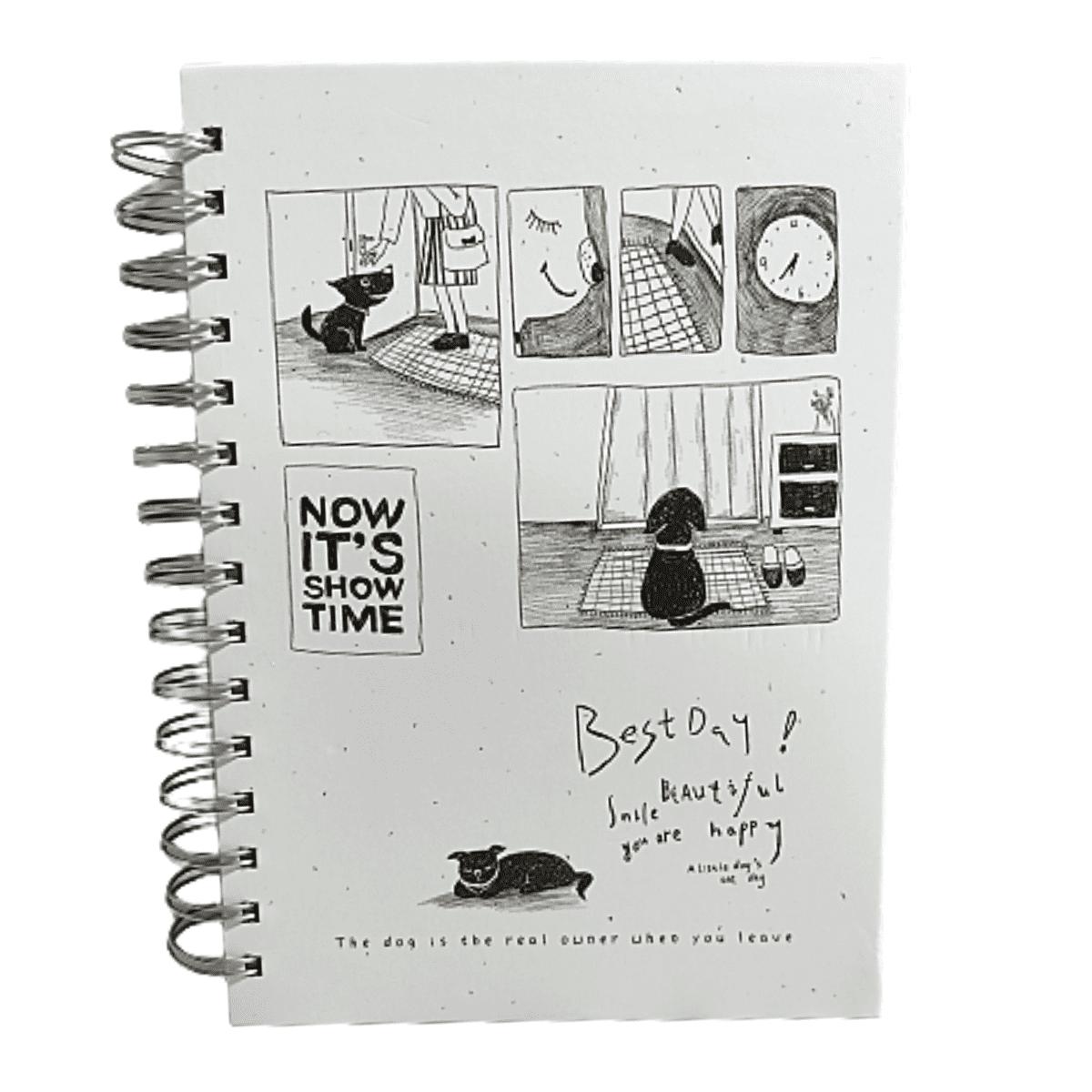 Caderno para anotações Branco