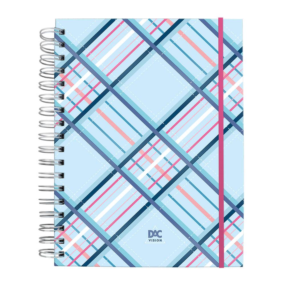 Caderno Smart Universitário com folhas tira e põe e linhas Brancas DAC Vision