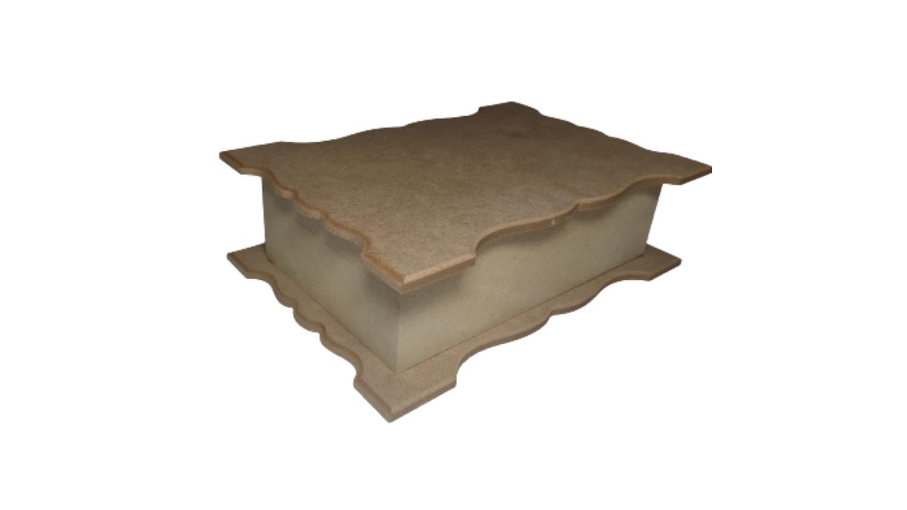 Caixa de madeira Bijuterias