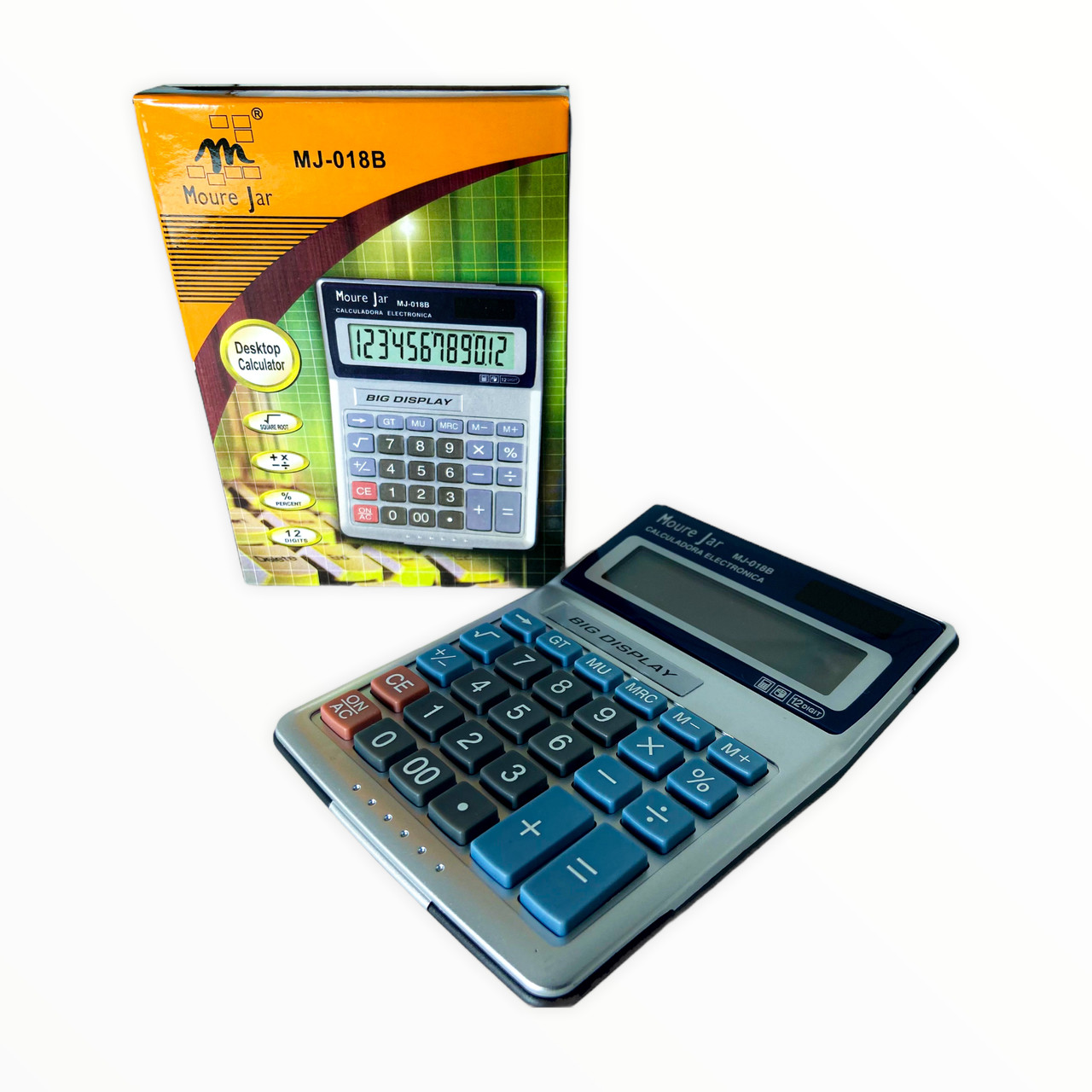 Calculadora de Mesa 12 Dígitos MJ-018B Moure Jar