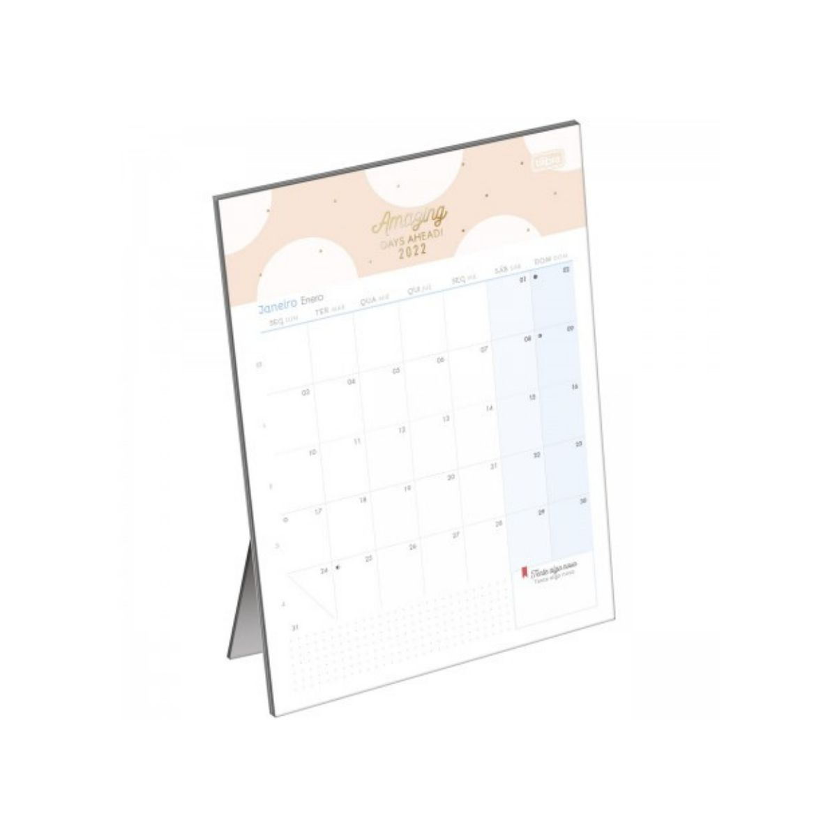 Calendário de Mesa Soho 2022