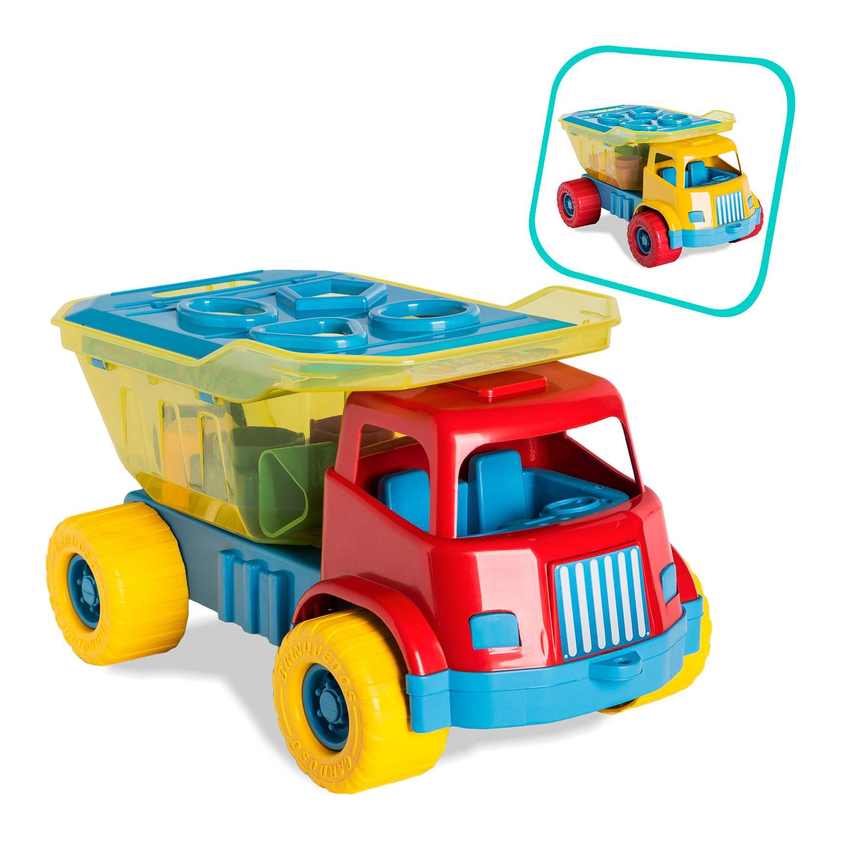 Caminhao Caçamba Didatico Dino Educatvos Cardoso toys