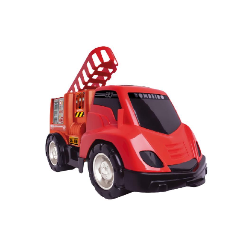 Caminhão Infantil do Bombeiro Vermelho - Samba Toys
